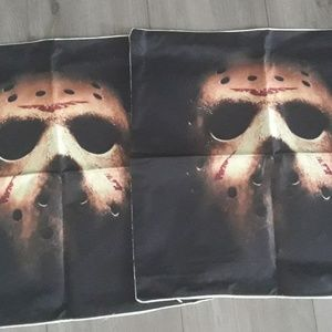 NEW JASON FRIDAY THE 13TH PILLOW CASES